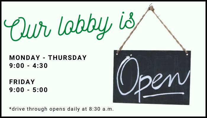 Website Lobby Open