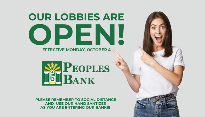 Lobby open